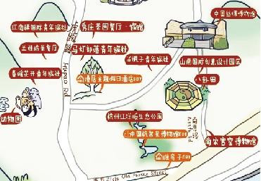 《创意生活手绘地图》一图在手 玩转创意杭州