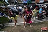 肯德基利用印尼强震做广告遭猛批 被迫道歉(图)