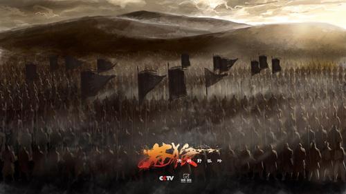 手绘高清动画纪录片《苍狼之决战野狐岭》即将亮相央视(图)