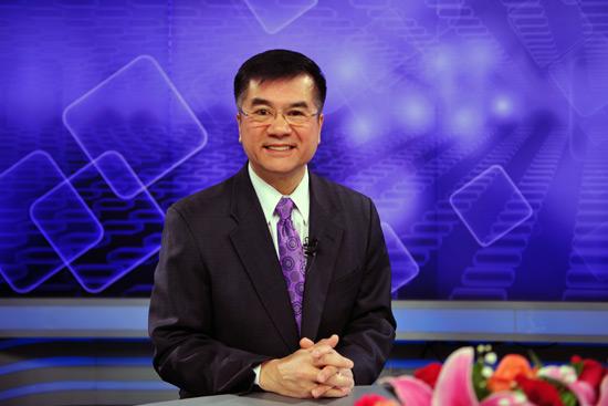 4月13日,美国驻华大使骆家辉做客人民网强国论坛.