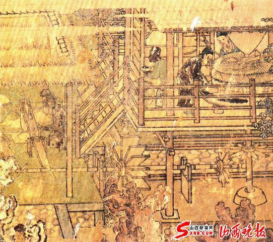 山西古代建筑精华之三十三:灵岩绝画(图)