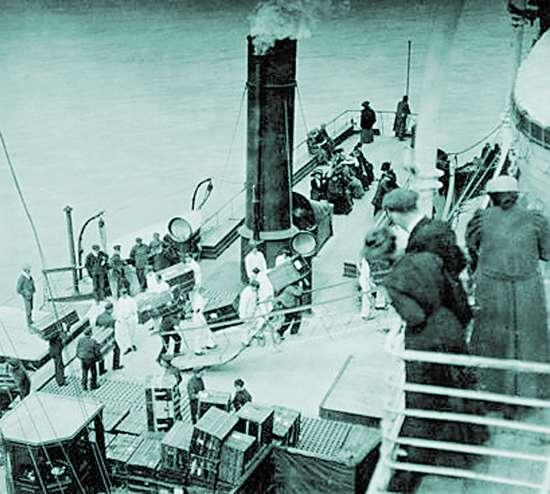 泰坦尼克号沉没前最后照片公布(图)图片