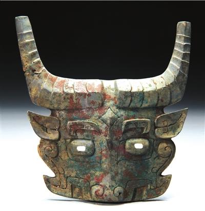 曾侯墓地出土的青铜面具