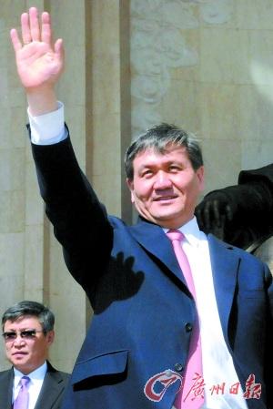 蒙古国前总统恩赫巴亚尔。