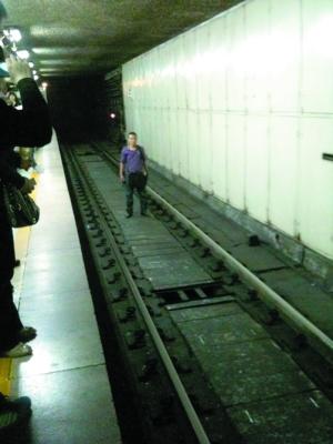 事发地铁一号线 众网友谴责扰乱公共秩序行为