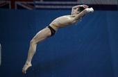 图文:跳水系列赛莫斯科站 林跃男子十米台夺冠