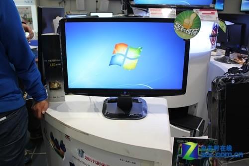 优派VX2336S液晶显示器的外观