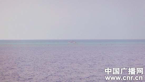 2012年3月,黄岩岛周边海域