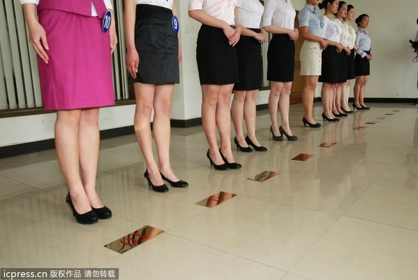 吸引数百在校美女大学生们前来参与角逐