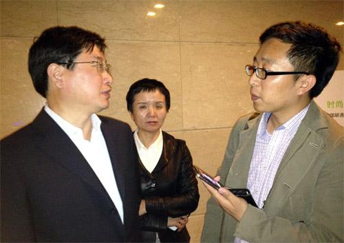 中国联通总经理陆益民接受搜狐IT专访