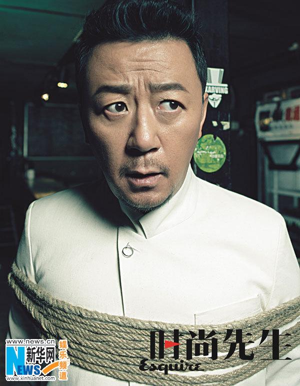 近期,电影《黄金大劫案》的几位主创宁浩,郭涛,小陶虹等受著名时尚