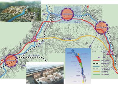 盘县鸡场坪镇开发区规划图