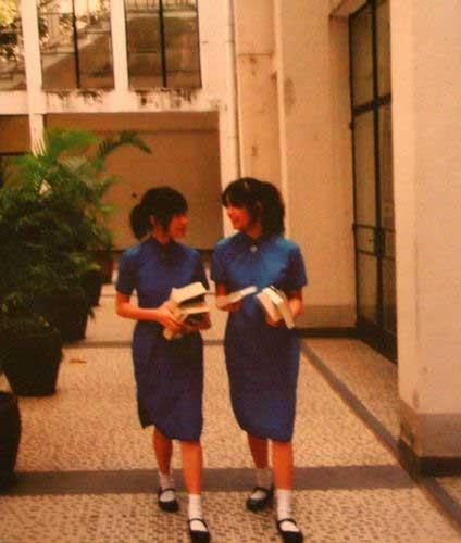 清新 圣保罗/圣保罗男女中学校的夏季校服