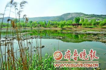 济南腊山河_4.3公里长景观带打造中济南引黄河水补给腊山河(图)-搜狐滚动