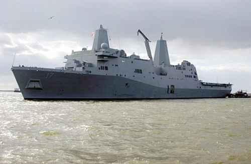 美媒:中国解决南海争端必定倚重071型船坞登陆舰