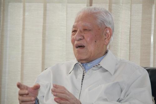 """李登辉说,日本出到石原慎太郎这样政治家,""""很可怜""""。 图片来源:台湾""""中央社"""""""