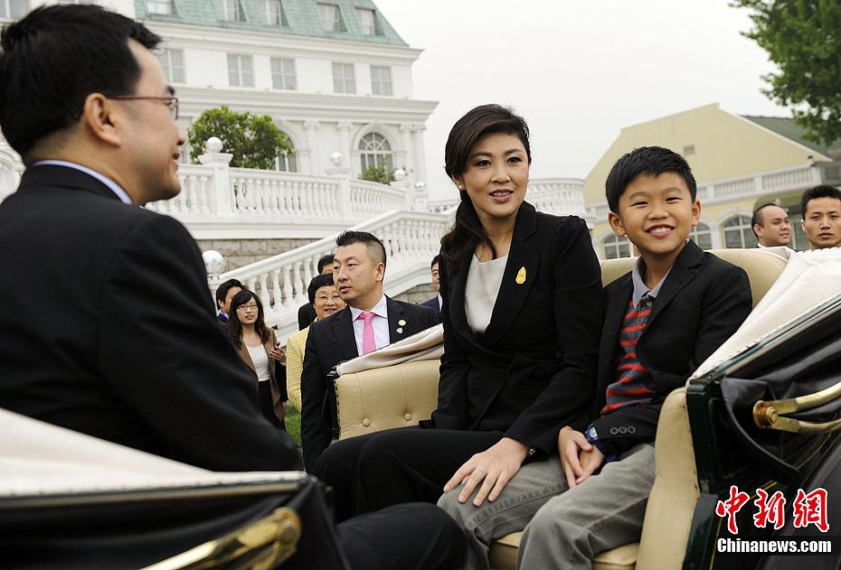 泰王国英拉北京访问泰资企业组图 搜狐滚
