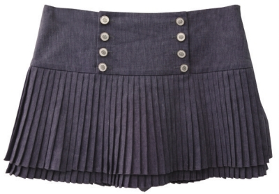 百褶短裙miamia