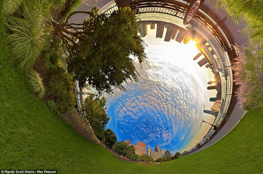360度全景透视美图令人叫绝(图)