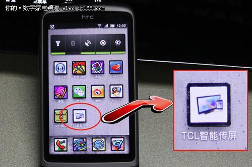 智能手机的小屏传大屏