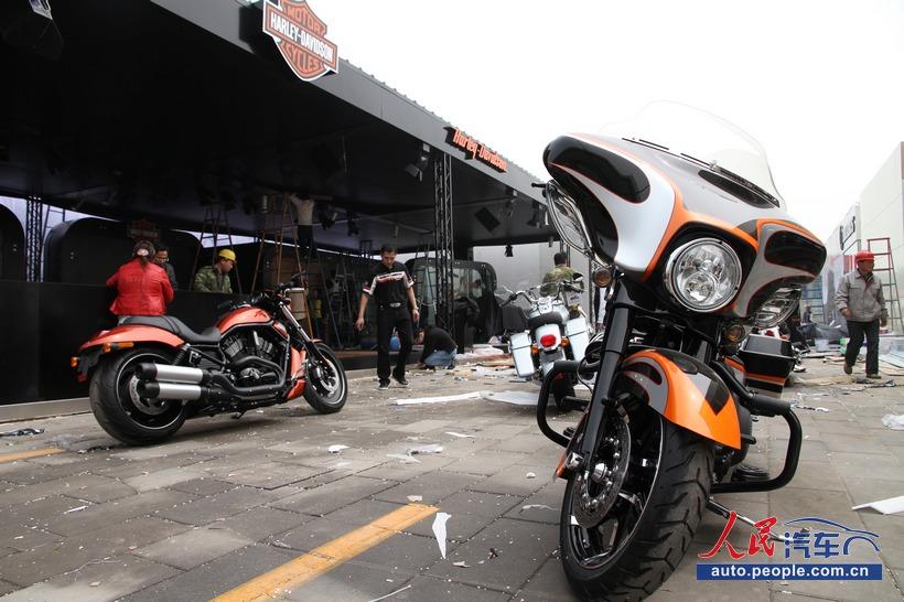 北京/【车展探营】2012北京国际车展摩托机车争斗艳(组图)