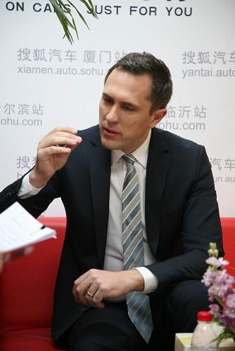 华晨宝马汽车有限公司营销高级副总裁戴雷