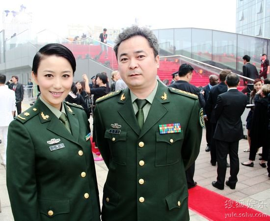 演员丁柳元亮相北京国际电影节