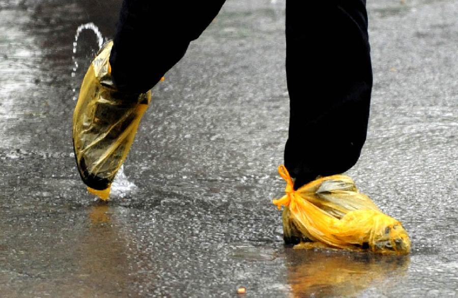 当日,河南全省大部分地区出现降雨大风天气,气象部门发布大风蓝色