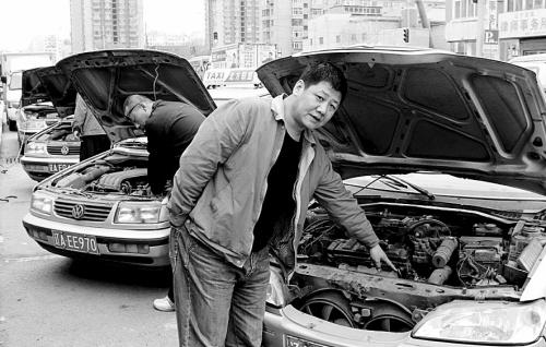 液化气 出租车/出租车司机面对因使用液化气而出故障的车很无奈