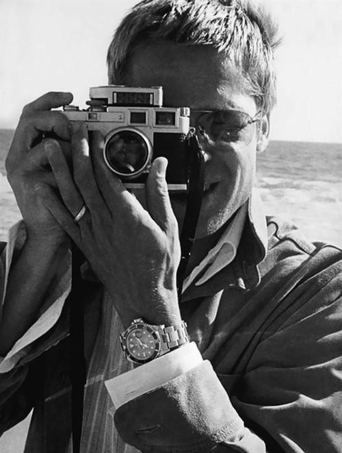 布拉德・皮特(美国演员)和徕卡M3