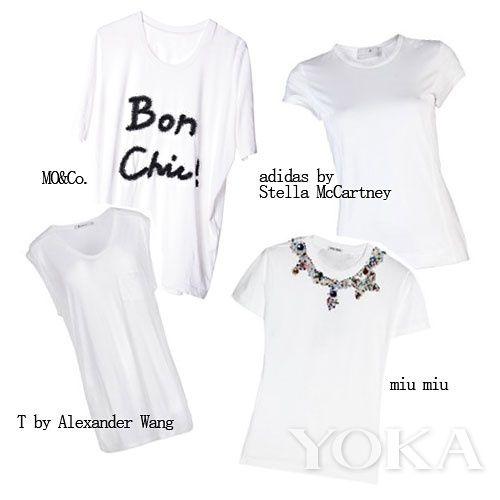 白t恤手绘简单