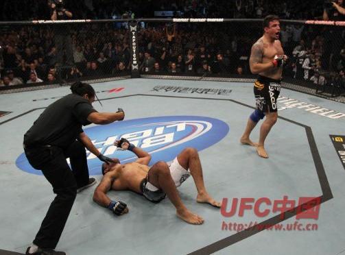 UFC140米尔KO牛头人