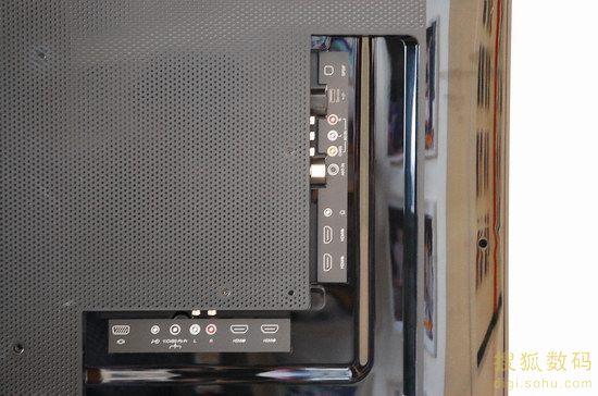 音视频端口与常规电视无异
