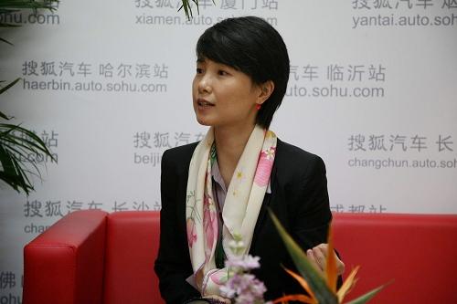 日产(中国)投资有限公司公共关系部总监沈莉