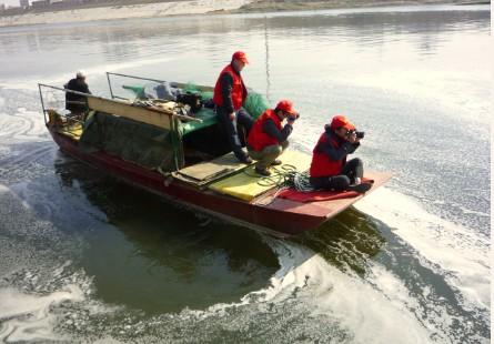 淮河卫士被环保部称为放在淮河的一双眼睛