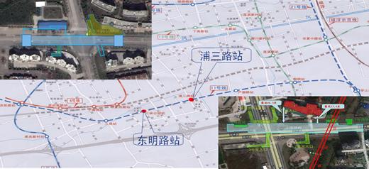 11号线车站地图手绘