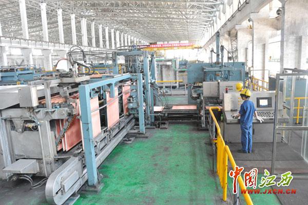 江铜集团贵溪冶炼厂阴极铜生产车间