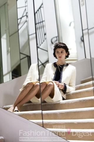 奥德丽/4. 奥德丽·塔图(Audrey Tautou)扮演2009年的传记电影《时尚...
