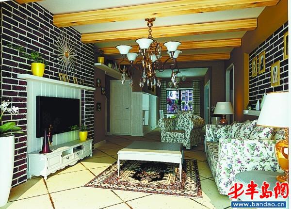 """在青岛胶南市隆泰国际家居建材博览中心四楼建立了""""白金汉家居体验馆"""""""