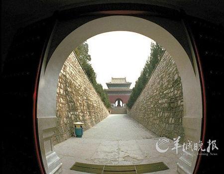 千年 明十三陵/明十三陵定陵地宫入口