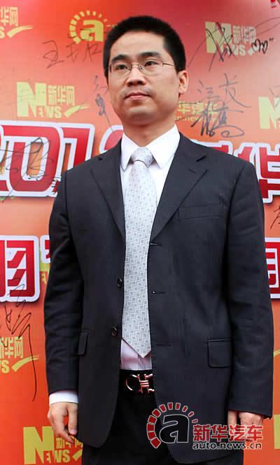 北京汽车股份有限公司销售本部市场部总监 王铭东