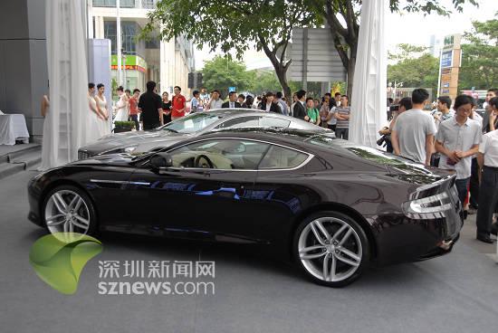 阿斯顿马丁!售价4700万元超级跑车惊现深圳(组图)