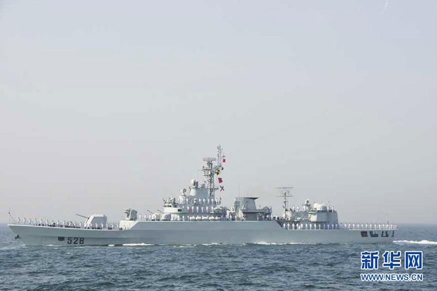 中国海军8绵阳舰_千龙网新闻中心中国海军绵阳舰10日晨抵达