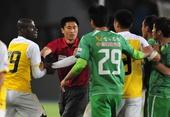 图文:[中超]国安1-0胜申鑫 萨利冲突