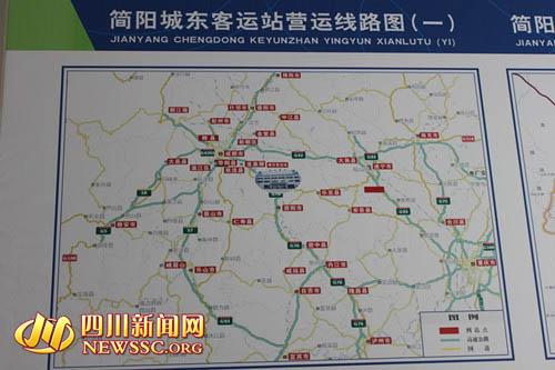 简阳机场位置_简阳立体交通蓝图初现 对接大成都通道将达17条