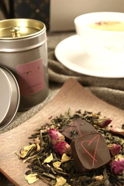 agnès b. DÉLICES首次推出在欧洲流行的特色花果茶。