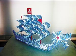 深圳福彩中心彩票手工艺品创意制作将在文博会上精彩亮相.