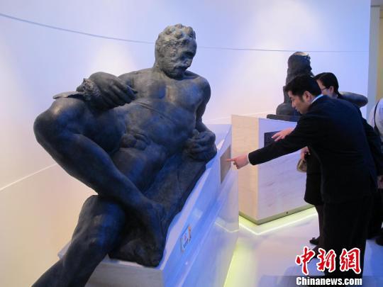 血统纯正 的米开朗基罗雕塑翻铸件亮相上海
