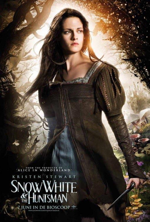 白雪公主与猎人 爆海报 斯图尔特造型销魂