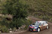 图文:WRC拉力赛阿根廷站 勒布稳定驾驶
